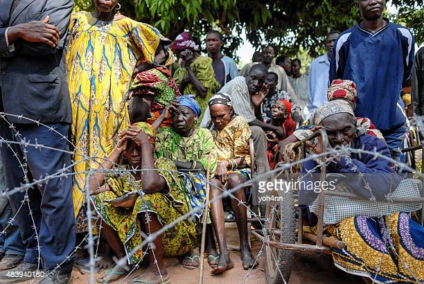 African rifugiati in attesa