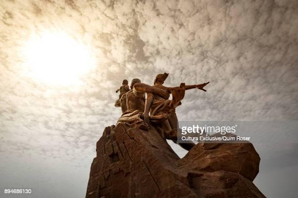 African renaissance monument, Collines des Mamelles, Dakar, Senegal, Africa
