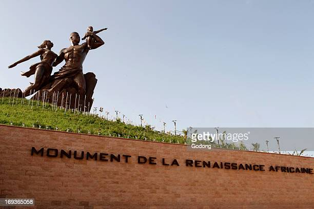 African Renaissance Monument designed by former president Karim Wade Senegal
