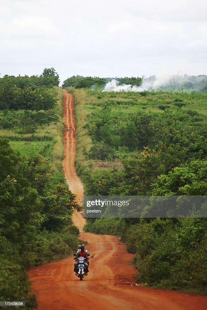 african road : Stock Photo
