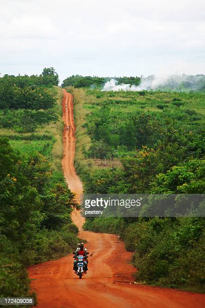 african road - nigeria stock pictures, royalty-free photos & images