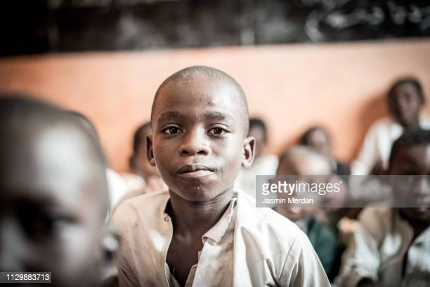 african school boys - poor africans stock pictures, royalty-free photos & images