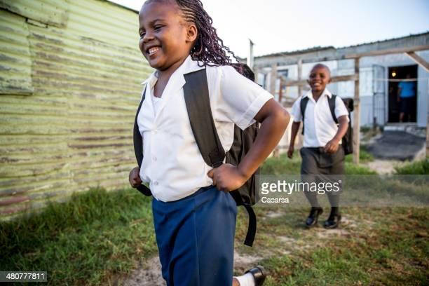 Africano crianças de Escola
