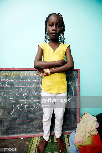 african schoolgirl - nigerian girls stock photos and pictures