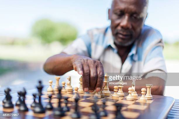 African senior making his move