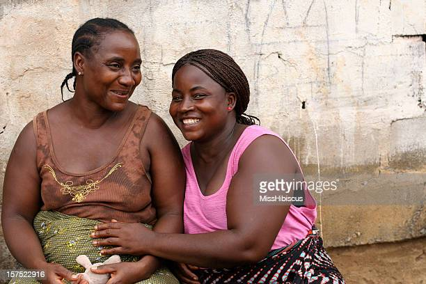 african sisters - images of fat black women stock photos and pictures
