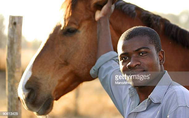 African Stable Hand one