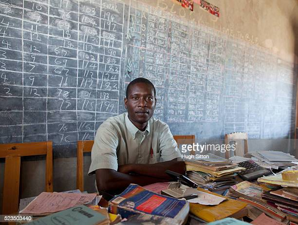 african teacher at school - hugh sitton stock pictures, royalty-free photos & images