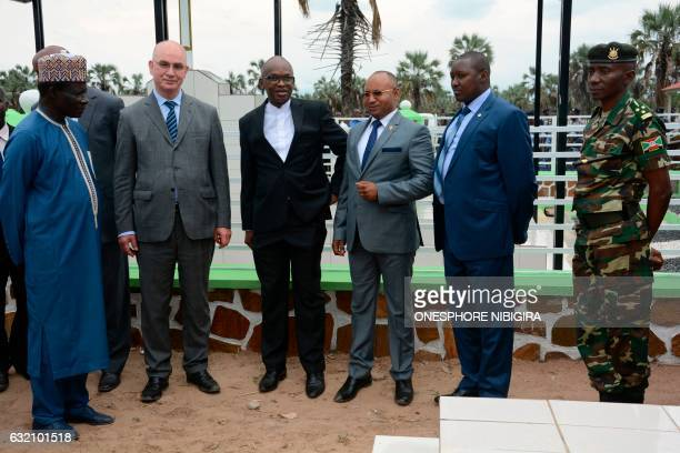 African Union representative for Burundi Ibrahima Fall Commissioner of Peace and Security for AU Smail Chergui Burundi's Foreign Affairs Minister...