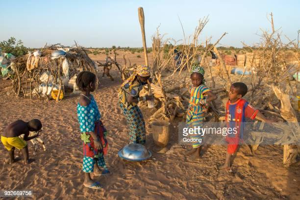 African village children Senegal
