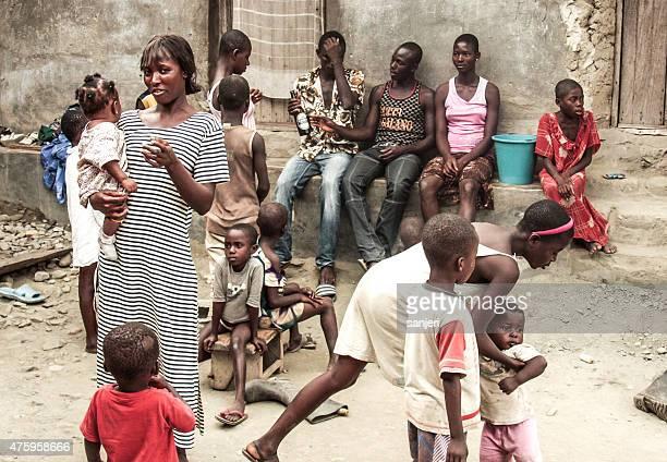 African village people - Ghana