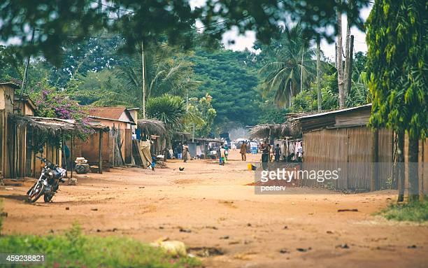 African village scene.