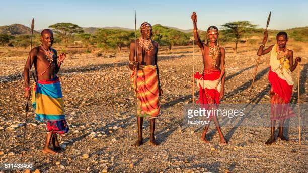 アフリカウォリアーズサンブール族から、セントラルケニア、東アフリカ