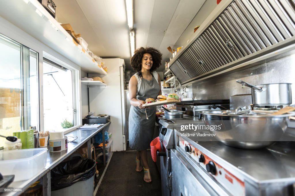 Food truck inside pictures