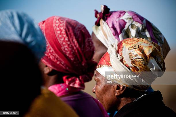african woman - south african culture stock photos and pictures