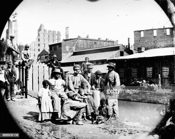 AfricanAmerican a family in a city in the American south some years after the Civil War Circa 1868