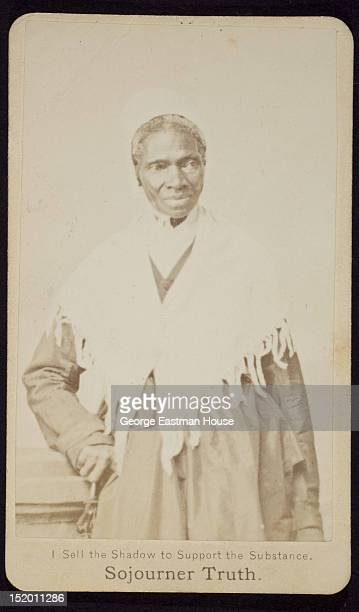 AfricanAmerican abolitionist and women's rights activist Sojourner Truth ca 1864