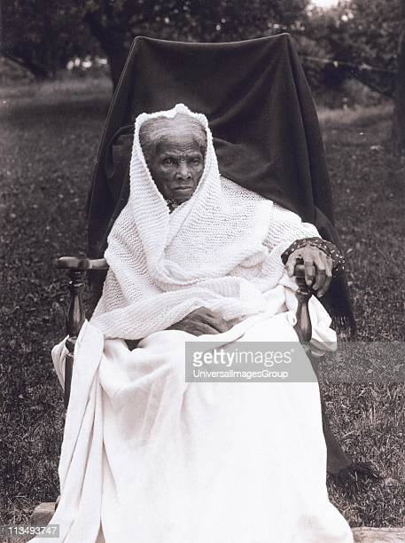 African-American abolitionist, humanitarian, and Union spy during the American Civil War, Harriet Tubman , circa 1900. After escaping from slavery,...