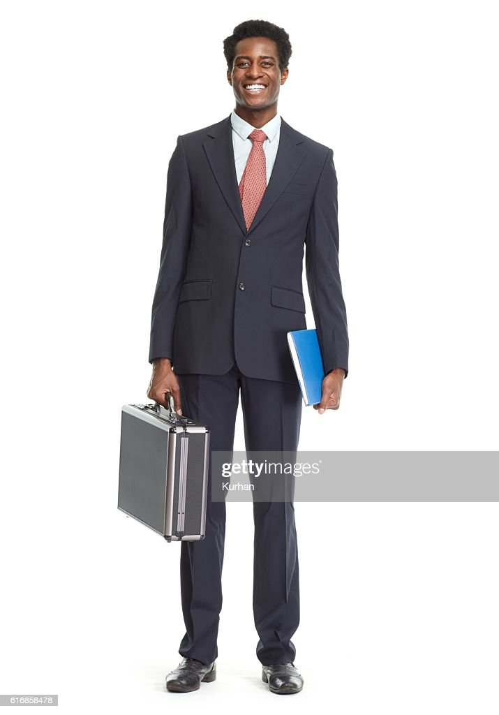 African-American businessman. : Stock Photo