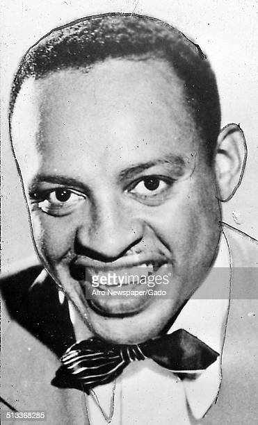 AfricanAmerican jazz vibraphonist pianist percussionist bandleader and actor Lionel Hampton 1954