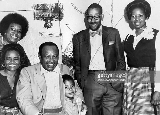 AfricanAmerican jazz vibraphonist pianist percussionist bandleader and actor Lionel Hampton Baltimore Maryland October 13 1973