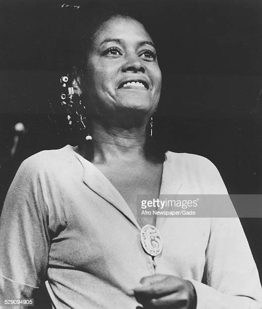 AfricanAmerican jazz vocalist songwriter and actress Abbey Lincoln September 23 1980
