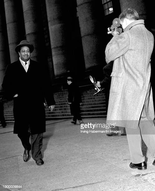 African-American lawyer and communist who was elected in 1943 to the city council of New York City, representing Harlem, Ben J. Davis Jr. Leaves the...