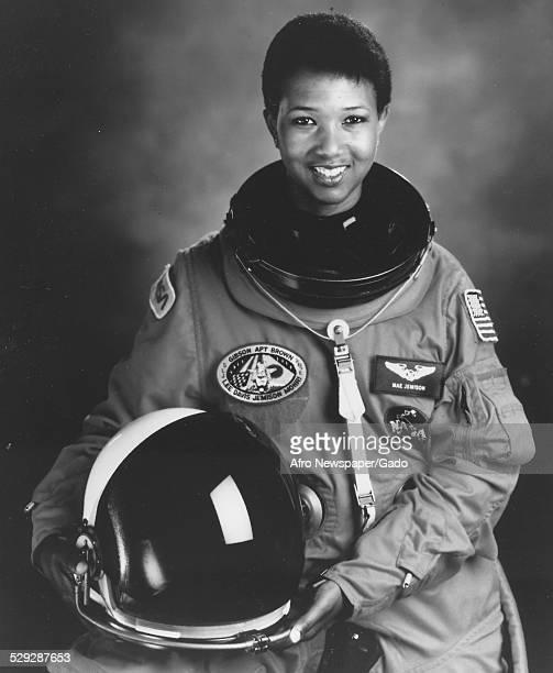 AfricanAmerican NASA astronaut Mae Jemison Houston Texas Original Caption Reads 'National Aeronautics And Space Administration Astronaut Mae Jemison...