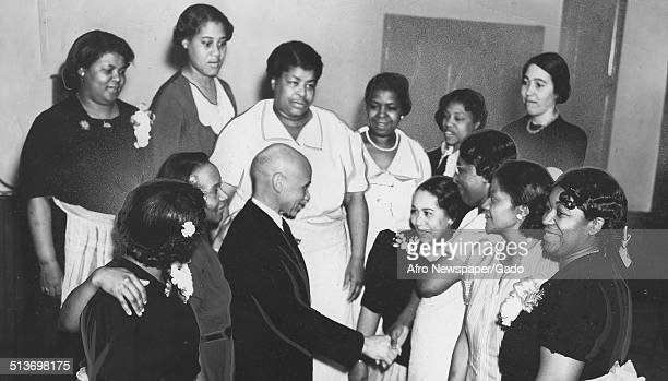 AfricanAmerican nurses at NewarkWayne Community Hospital Newark New Jersey 1944