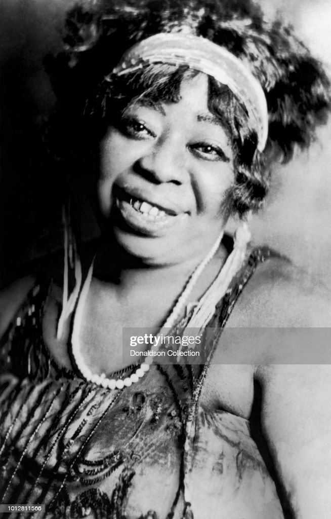 """""""Mother of the Blues"""" Ma Rainey poses for a portrait circa 1923. News Photo - Getty Images"""