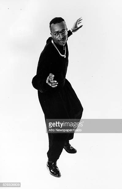 AfricanAmerican rapper and actor MC Hammer 1985