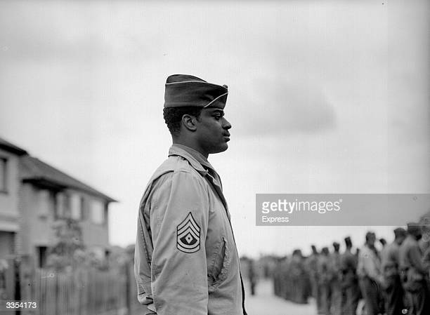AfricanAmerican soldiers on duty