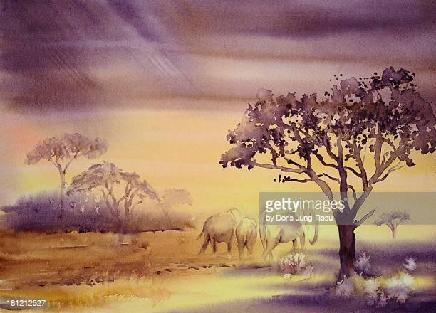 Afrika - Phantasie