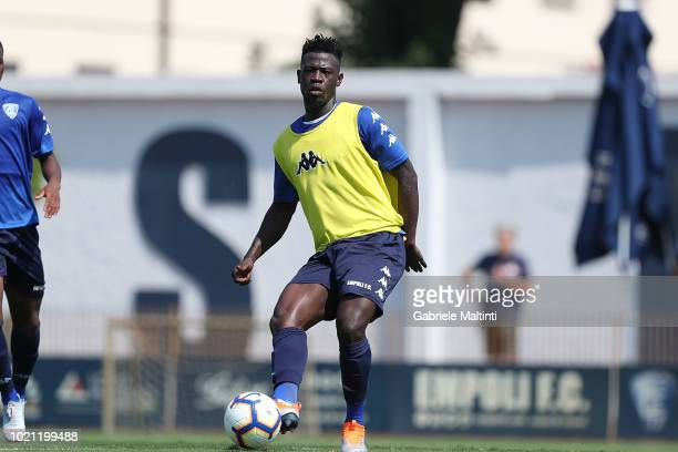 Afriyie Acquah of Empoli FC during training session on August 22 2018 in Empoli Italy