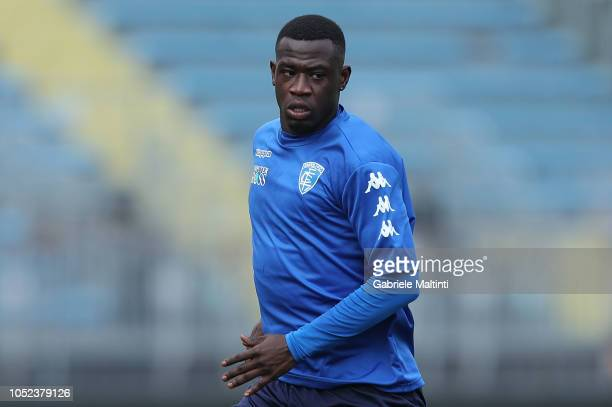 Afriyie Acquah of Empoli FC during training session on October 17 2018 in Empoli Italy