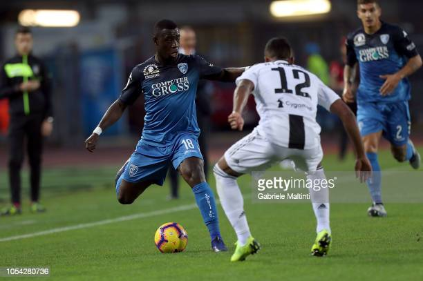 Afriyie Acquah of Empoli Fc in action during the Serie A match between Empoli and Juventus at Stadio Carlo Castellani on October 27 2018 in Empoli...