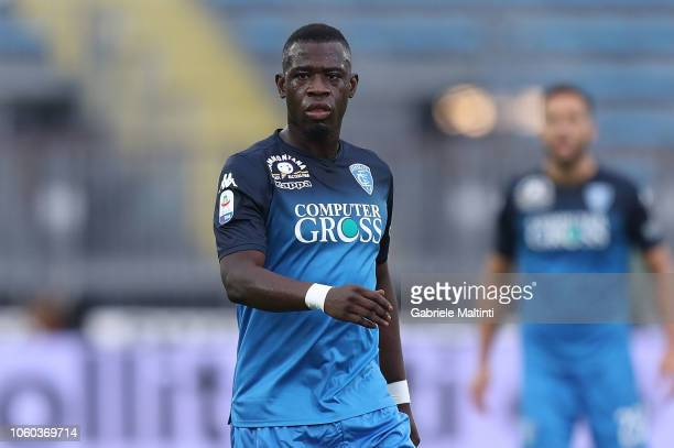 Afriyie Acquah of Empoli FC in action during the Serie A match between Empoli and Udinese at Stadio Carlo Castellani on November 11 2018 in Empoli...