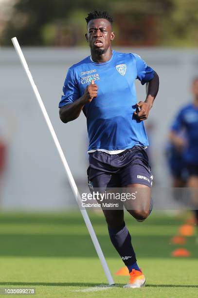 Afriyie Acquah of Empoli FC in action during training session on September 18 2018 in Empoli Italy