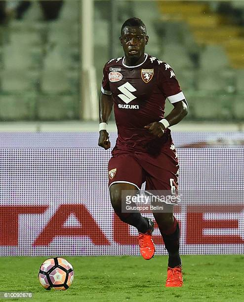 Afriyie Acquah of FC Torino in action during the Serie A match between Pescara Calcio and FC Torino at Adriatico Stadium on September 21 2016 in...