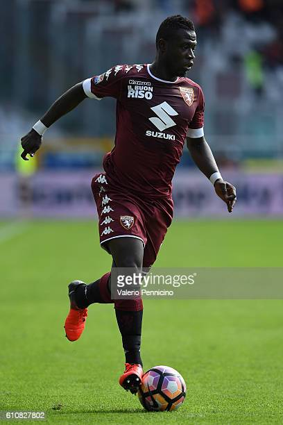 Afriyie Acquah of FC Torino in action during the Serie A match between FC Torino and Empoli FC at Stadio Olimpico di Torino on September 18 2016 in...
