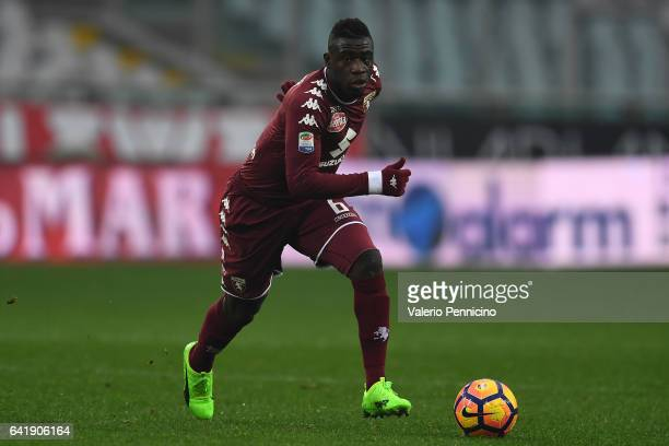 Afriyie Acquah of FC Torino in action during the Serie A match between FC Torino and Pescara Calcio at Stadio Olimpico di Torino on February 12 2017...