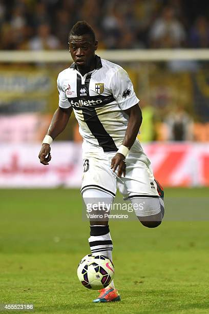Afriyie Acquah of Parma FC in action during the Serie A match between Parma FC and AC Milan at Stadio Ennio Tardini on September 14 2014 in Parma...