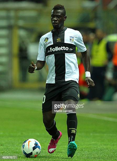 Afriyie Acquah of Parma FC in action during the Serie A match between Parma FC and AS Livorno Calcio at Stadio Ennio Tardini on May 18 2014 in Parma...