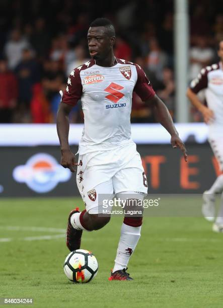 Afriyie Acquah of Torino during the Serie A match between Benevento Calcio and Torino FC at Stadio Ciro Vigorito on September 10 2017 in Benevento...