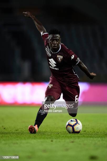 Afriyie Acquah of Torino FC in action during the friendly football match between Torino FC and Chapecoense Torino FC won 20 over Chapecoense