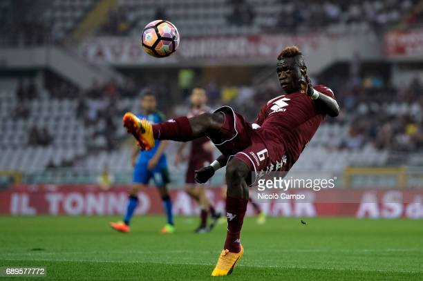 Afriyie Acquah of Torino FC in action during the Serie A football match between Torino FC and US Sassuolo Torino FC wins 53 over US Sassuolo