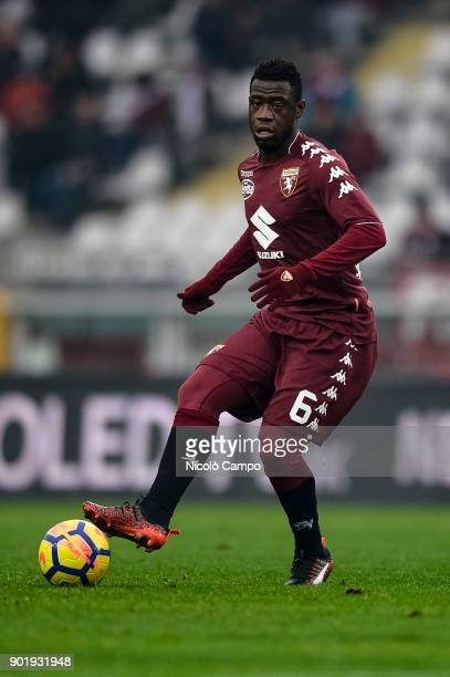 Afriyie Acquah of Torino FC in action during the Serie A football match between Torino FC and Bologna FC Torino FC won 30 over Bologna FC