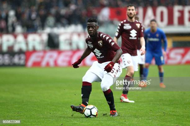 Afriyie Acquah of Torino FC in action during the Serie A football match between Torino Fc and ACF Fiorentina ACF Fiorentina wins 21 over Torino Fc
