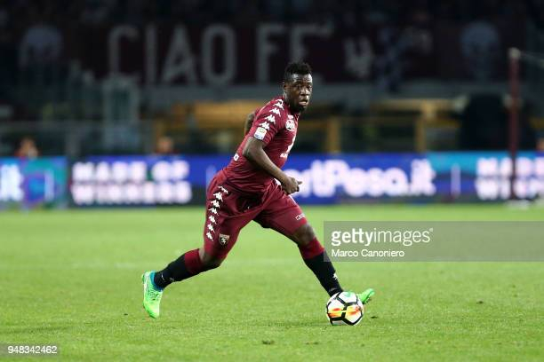Afriyie Acquah of Torino FC in action during the Serie A football match between Torino Fc and Ac Milan The match end in a tie 11