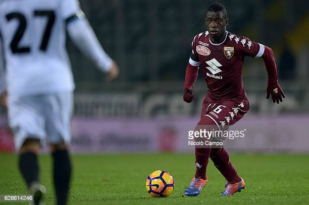 Afriyie Acquah of Torino FC in action during the TIM Cup football match between Torino FC and AC Pisa Torino FC wins 40 over AC Pisa